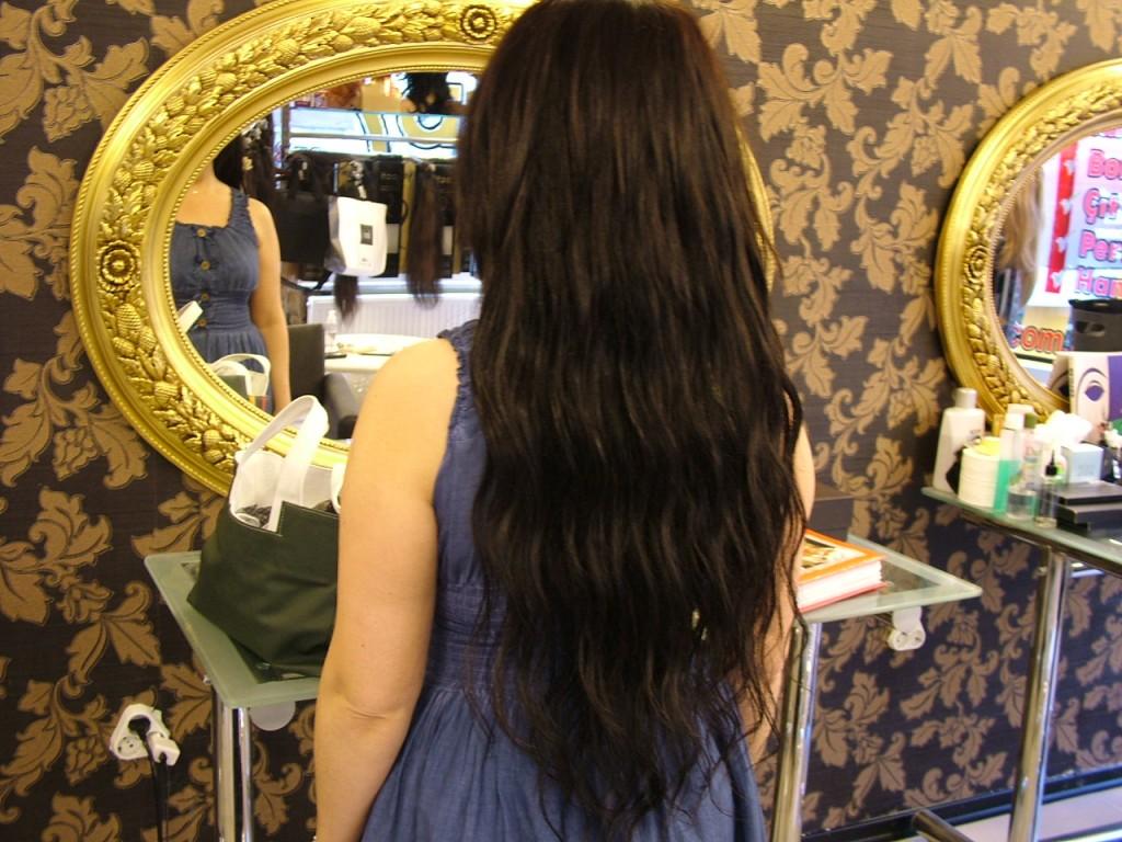 Boncuk Saç Kaynak Öncesi ve Sonrası